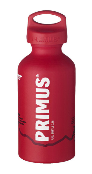 Primus Fuel Bottle - Hornillo camping - 350ml rojo/blanco